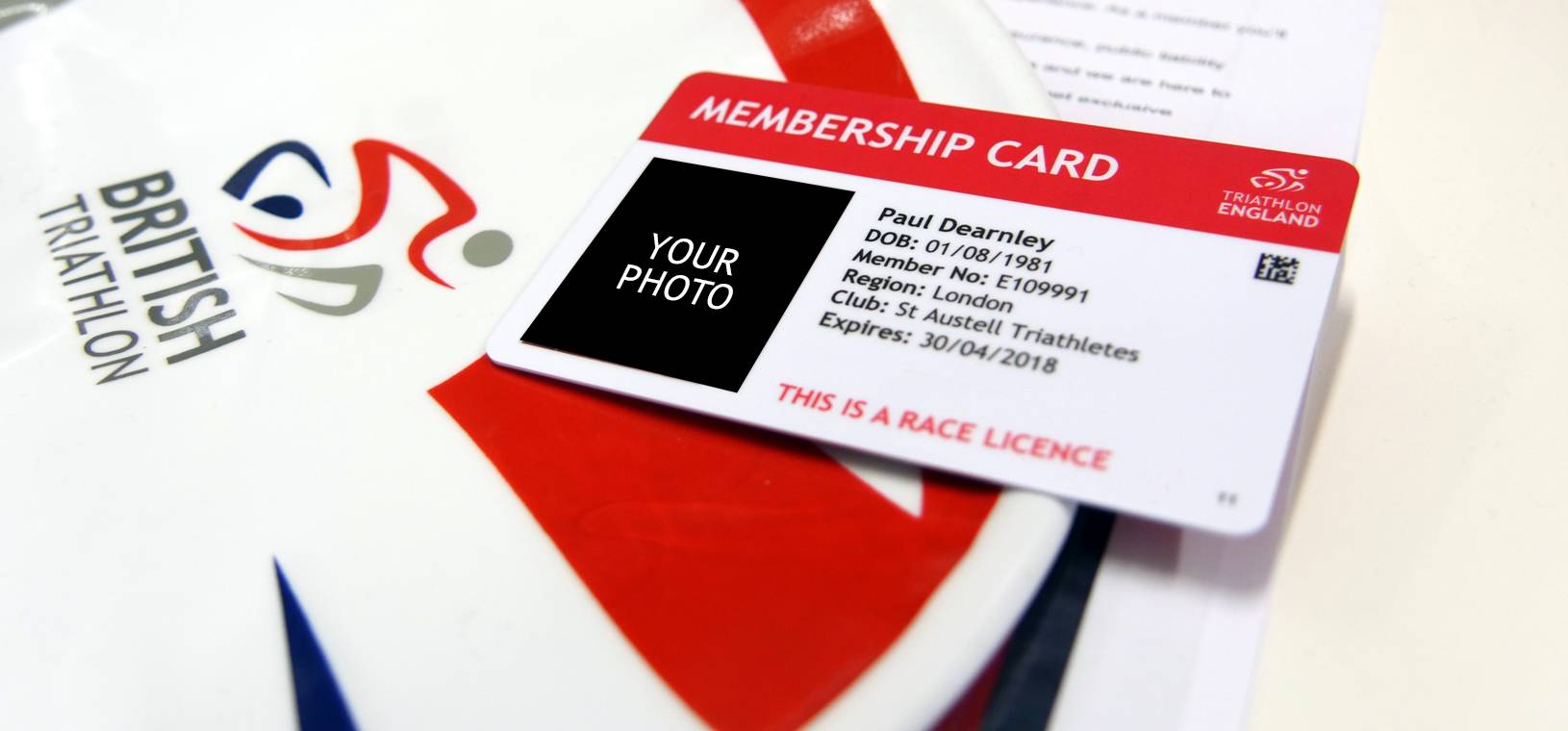 upload a photo ready for your new membership card